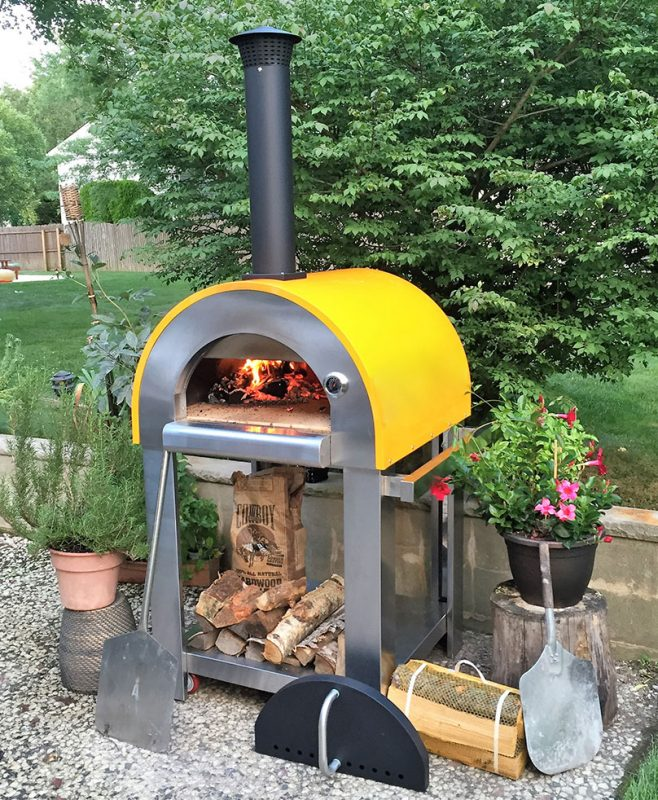 Previous - Buy Forno Bello Series Backyard Brick Oven In USA Backyard Brick Ovens