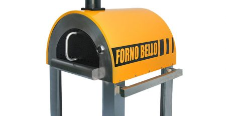 Backyard Brick Oven Forno Bello - Tuscan Yellow