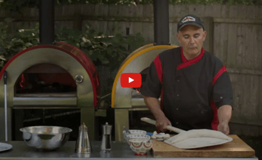 How to Make a Calzone in a Wood Fired Brick Oven