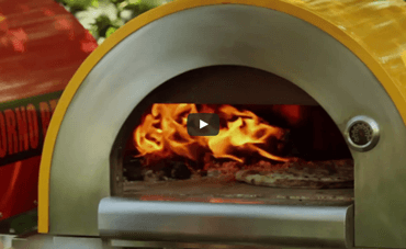 How to Make Arugula Bianca Pizza in a Wood Fired Brick Oven