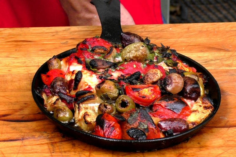 Backyard Pizza Cooking Fun